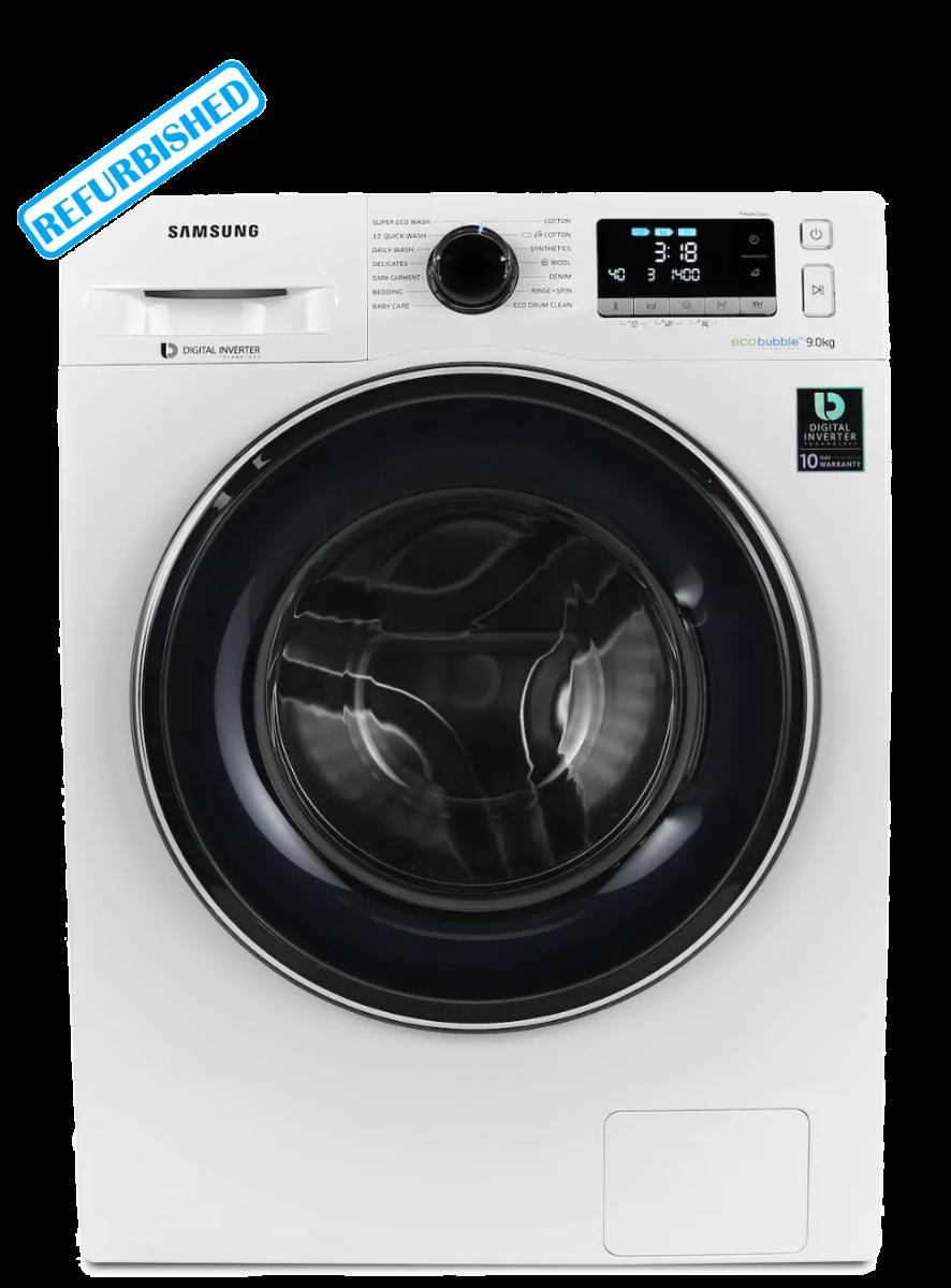 SAMSUNG ecobubble WW90J5456FW 9 kg 1400 Spin Washing Machine - White  (SAC-3824)
