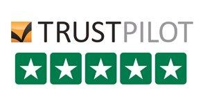 We're Trust Pilot Verified